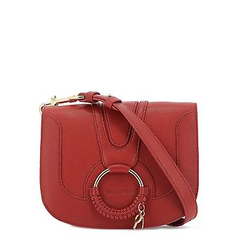 See By Chloé S17ss896305665 Women's Red Leather Shoulder Bag