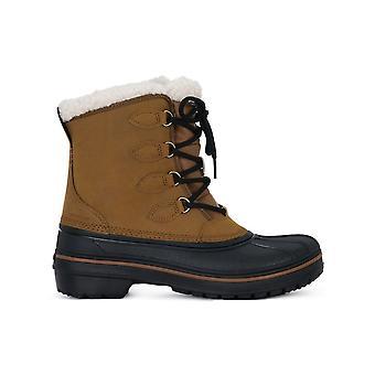 Crocs All Cast 203430WEAT universelle Winter Damen Schuhe
