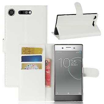 Custodia per Sony Xperia Xz1 White Card Door