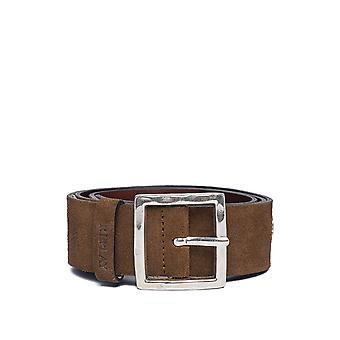 Replay Women's Suede Leather Belt Camel