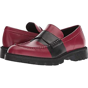 Calvin Klein Men's Florentino Box Leather Stripe Ankle-High Loafers & Slip-On