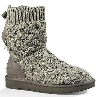 UGG Australia Womens Isla Fabric Round Toe Mid-Calf Cold Weather Boots