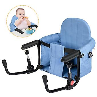 Portable Baby Hook On Seat Folding Table High Chair Infant feeding Seat Safety