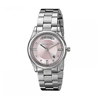 Michael Kors MK6069 Colette Pink Quadrante Inviless Steel Ladies Orologio