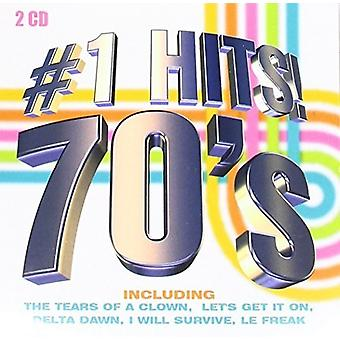 Various Artist - # 1 Hits 70's [CD] USA import