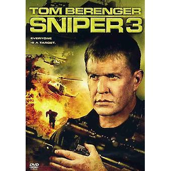 Sniper 3 [DVD] Yhdysvallat tuoda