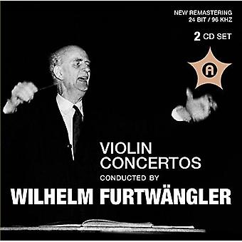 Beethoven / Sibelius - Violin Ctos Conducted by Wilhelm Furtwangler [CD] USA import
