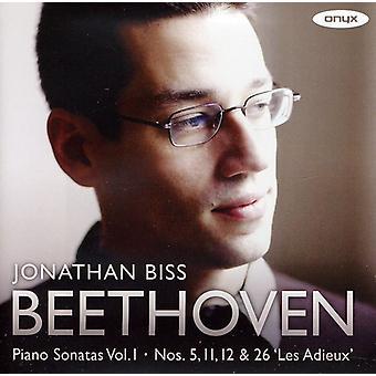 L.V. Beethoven - Beethoven: Piano Sonatas Nos. 5, 11, 12 & 26 [CD] USA import