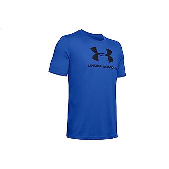 Under Armour Sportstyle Logo Tee 1329590-486 Mens T-shirt
