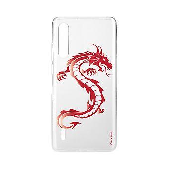 Hull For Xiaomi Mi 9 Lite Myk Rød Drage
