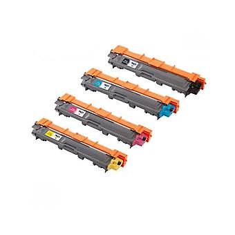 RudyTwos Replacement for Brother TN246 Set Toner Cartridge Black Cyan Magenta & Yellow Compatible with HL-3140CW, HL-3142CW, HL-3150CDN, HL-3150CDW, HL-3152CDW, HL-3170CDW, HL-3172CDW, Brother MFC-913