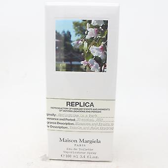 Replica springtime sisään a puisto maison margiela eau de wcte 3.4oz spray new