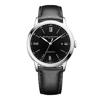 Baume & Mercier BM0A10453 Classima Black Dial Wristwatch