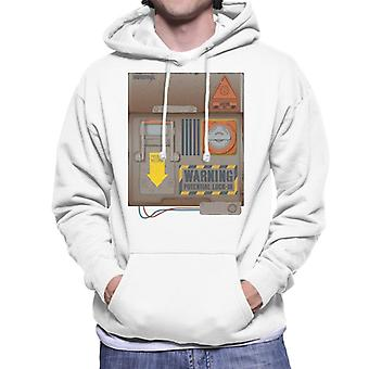 The Crystal Maze Lock In Board Rust Men's Hooded Sweatshirt