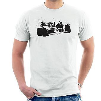 Motorsport Images Alain Prost McLaren MP45 Autodromo Nazionale Monza Men's T-Shirt