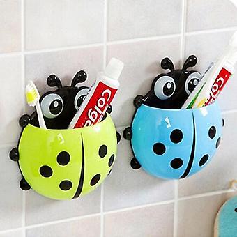 Pro domácnost sání Ladybug držák kartáček na zuby