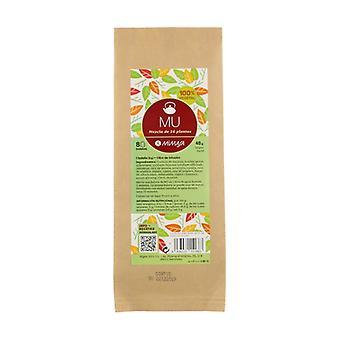 Mu tea plant mixtures 8 units of 6g