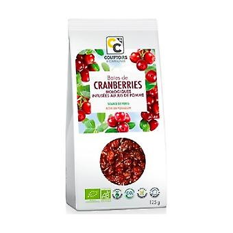 Organic cranberries infused with apple juice 125 g