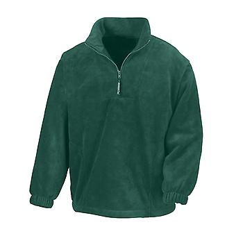 Result Adults Unisex Polartherm Zip Neck Fleece