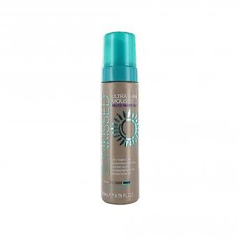 Sunkissed Self Tan Mousse Ultra Dark 200ml