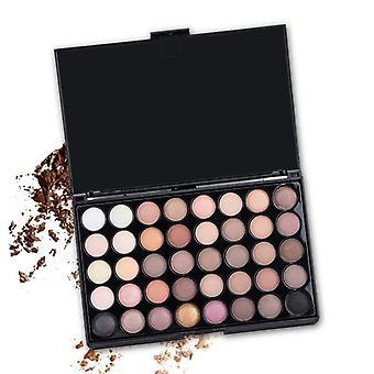 Eyeshadow Palette Smoky Pigment Long Lasting Makeup