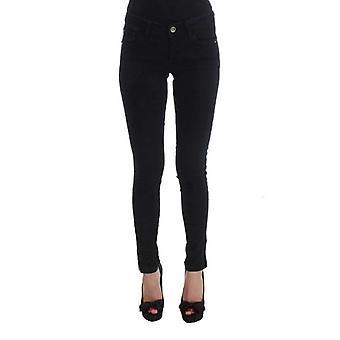 Siyah Pamuk Slim Fit Denim Kot Pantolon - SIG3519301