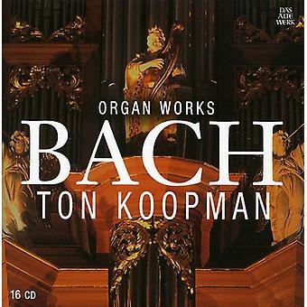 J.S. Bach - J.S. Bach: Complete orgelwerken [CD] USA import