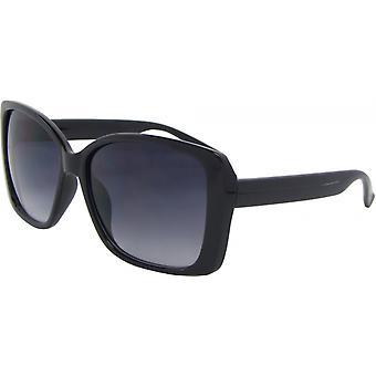 النظارات الشمسية Unisex فراشة كات. 3 أسود / رمادي (6550-A)