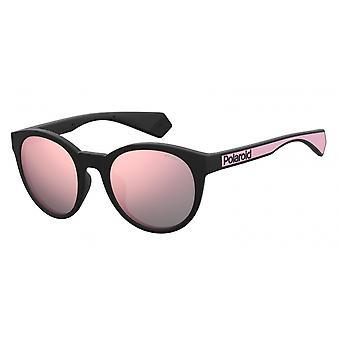 نظارات شمسية Unisex 6063/G/S3H2/0J عاكس أسود/وردي