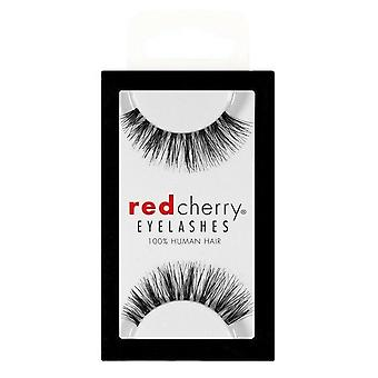 Red Cherry False Eyelashes - #415 Ivy - Perfect Curl Handcrafted Lashes