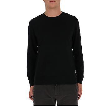 Z Zegna Vvm96zz110k09 Men's Black Wool Sweater