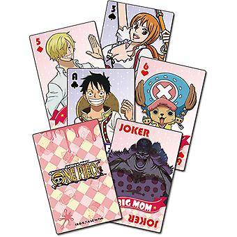 Playing Cards - One Piece - Whole Cake Island Group Licensed ge51693
