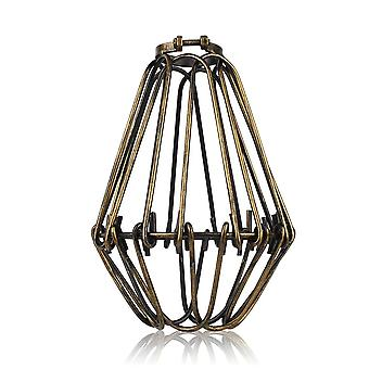 Lron Lampshade Pendant Light Lamp Shade Loft Metal Cage Bulb Guard Clamp Wrought Iron Wall Lamp For Home Decoration Lighting