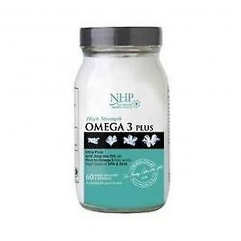 Natural Health Practice - Omega 3 Support 60 capsule