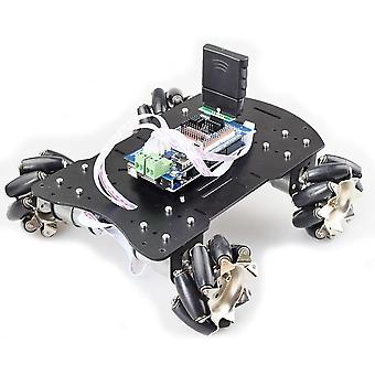 Big Load 4wd All Metal Mecanum Wheel Omni Robot Car Chassis Kit