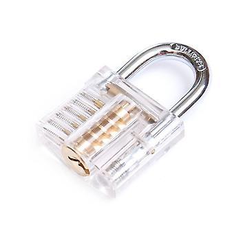 شفافة كاتواي ممارسة قفل لأجهزة الأثاث مع 2 مفاتيح