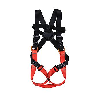 Child safety belt full body safety belt, amusement park expands rock climbing adventure