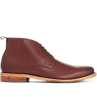 Jones Bootmaker Mens läder Chukka Boot