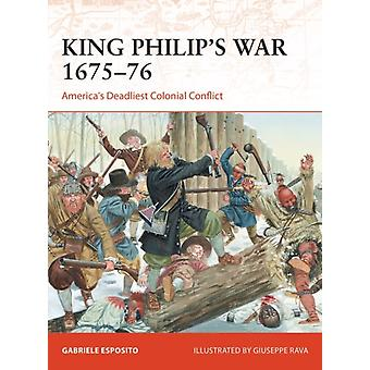 King Philips War 167576-tekijä Esposito & Gabriele