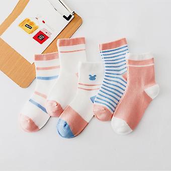 5pairs/lot Unicorn Mesh Thin Cotton Newborn / Socks