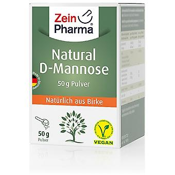Zein Pharma Natural D-Mannose Powder 50 gr