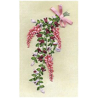 Panna Ribbon Embroidery Kit - Sweet Note
