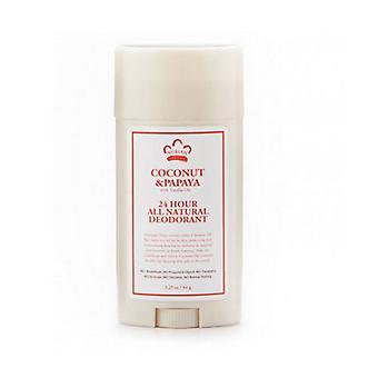 Nubian Heritage Coconut & Papaya Deodorant, 2.25 Oz