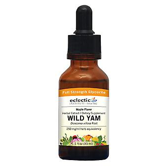 Eclectic Institute Inc Wild Yam Maple, 250 mg, 2 Oz Alkoholfrei