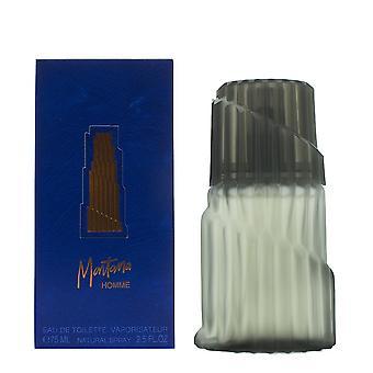 Montana Homme Eau de Toilette 75ml Spray per lui - NUOVO. Men's EDT