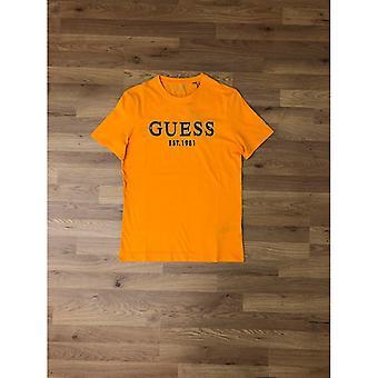 GUESS Brake T-Shirt - Boca Yellow