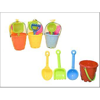 Kandy Toys Round Castle Bucket Set 4 Piece TY1186