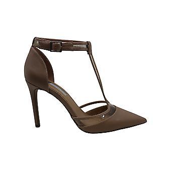 INC International Concepts Womens Kaeley Pointed Toe T-Strap Classic Pumps (en anglais)
