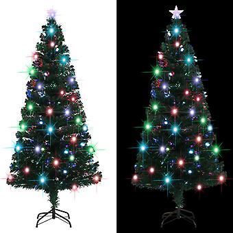 スタンド+LED 180 cm 220の枝が付いた人工クリスマスツリー