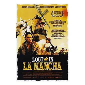 Lost in La Mancha elokuvajuliste (11 x 17)